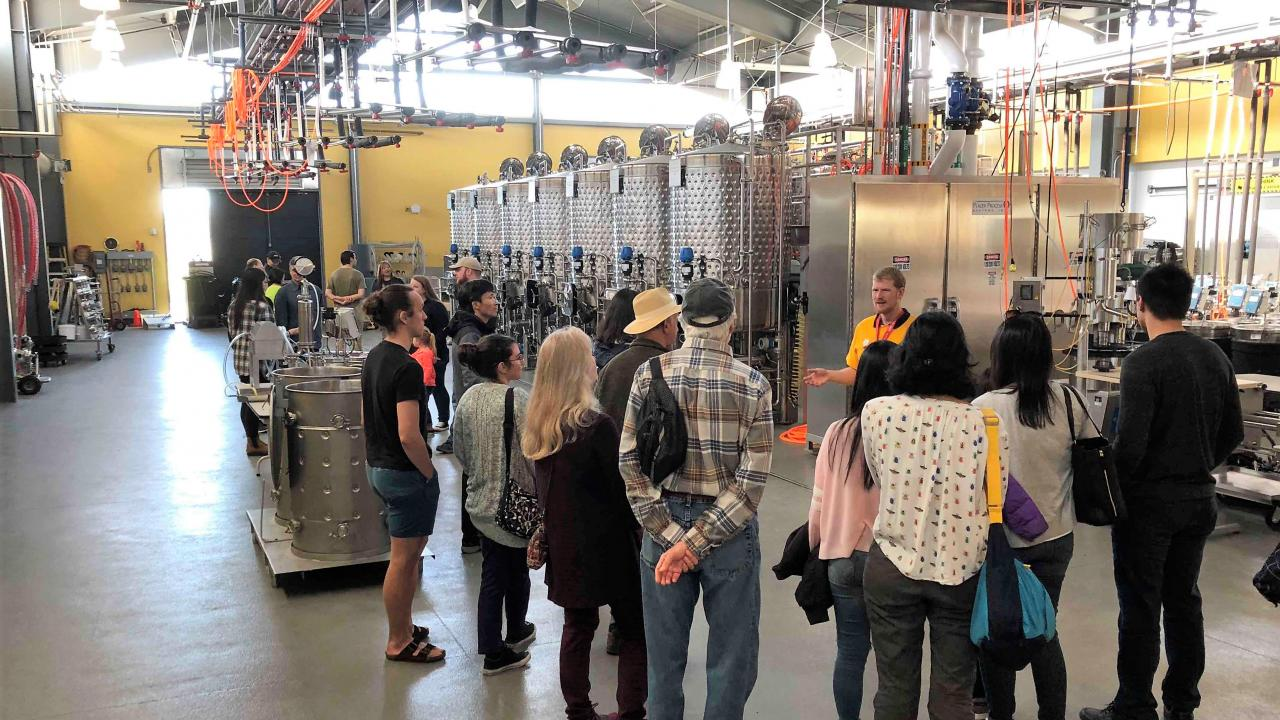 2018 winery tour