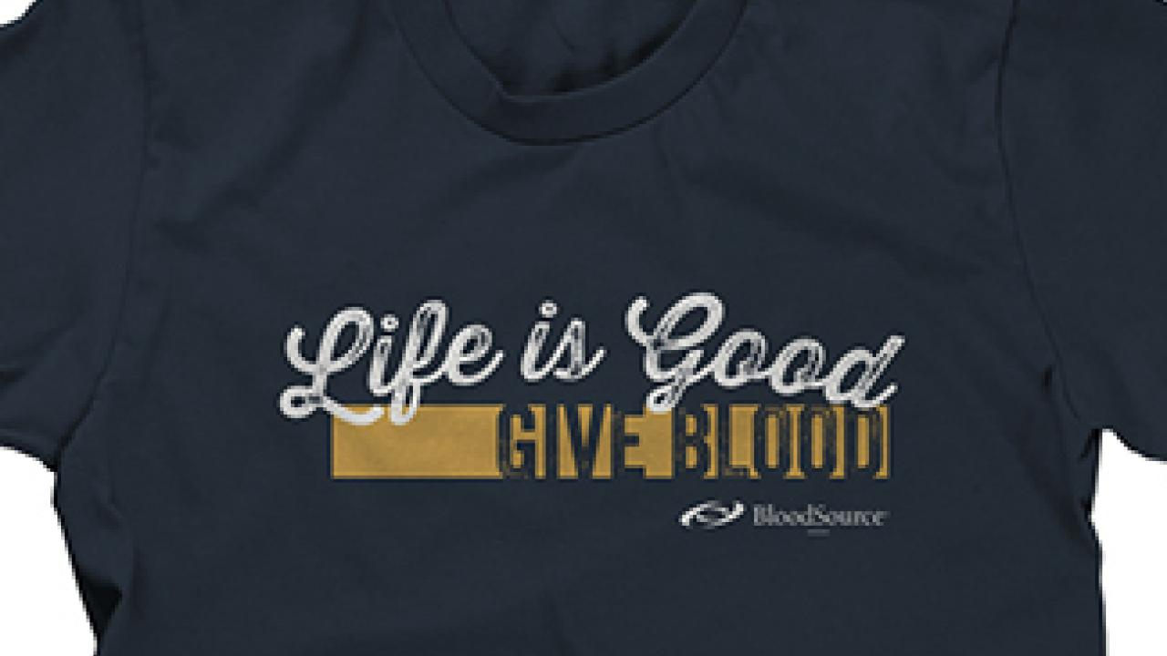 give blood shirt