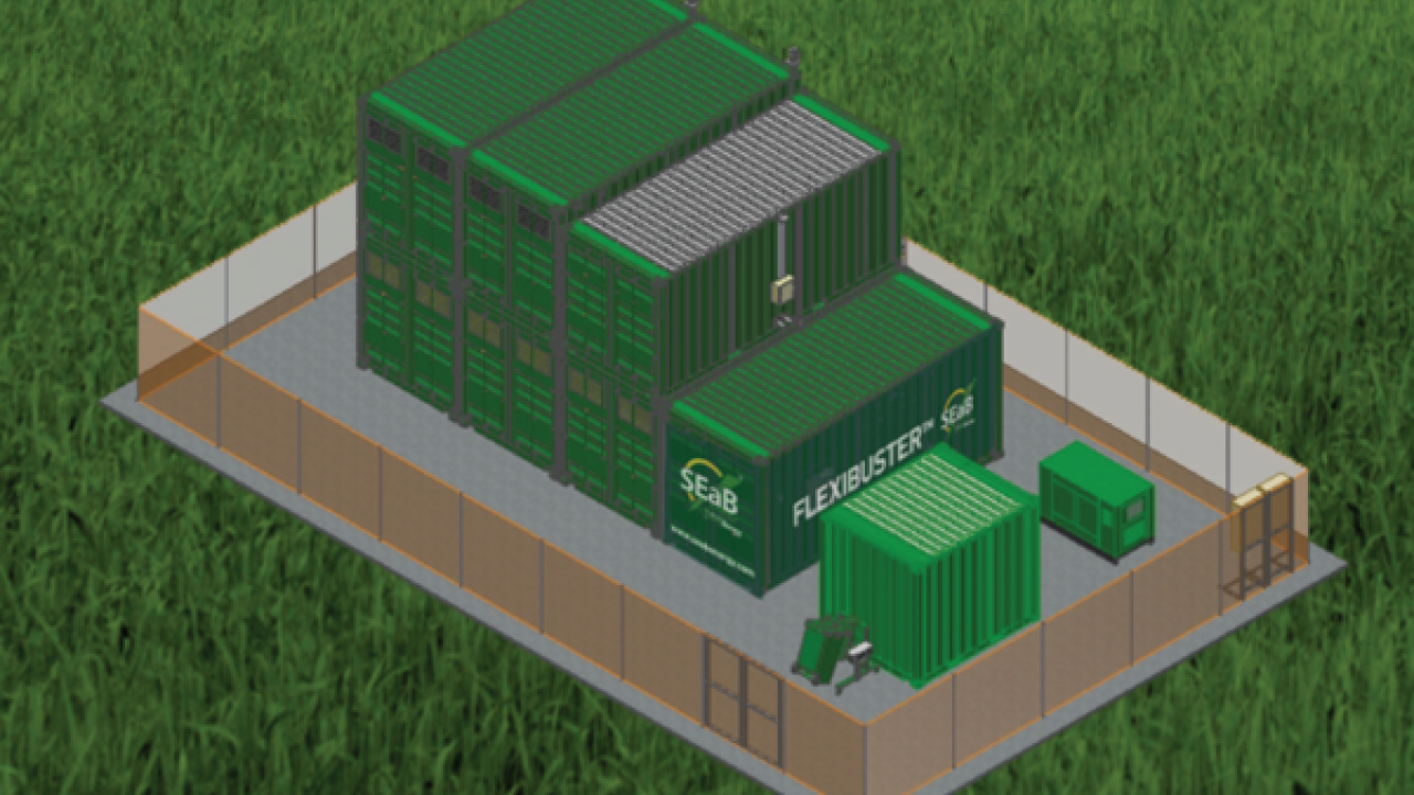 Containerized Anaerobic Digestion Unit