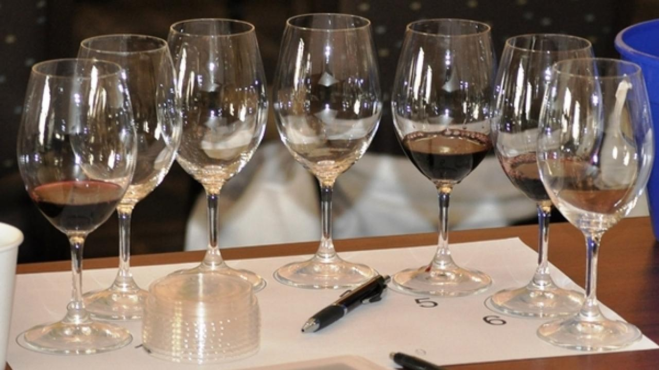 Seven winemakers explained their approach in the Blending for Style course.