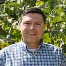Sahap Kaan Kurtural, a cooperative extension specialist in viticulture with the University of California-Davis, uses sensors and artificial intelligence to manage irrigation.
