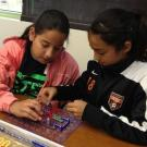 Participants at the STEM for Girls Day 2013 event at UC Davis