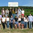 The summer session VEN 3 class in Burgundy, France