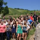 VEN 3 students in Hermitage, France