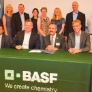 BASF and UC Davis representatives