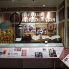 showcase of UC Davis Brewing at National Museum of American History