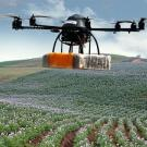 Drones monitoring crops are part of the agro-tech revolution.