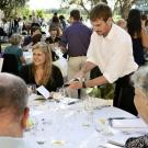 Guests at this year's Winkler Dinner on Saturday, May 16, will enjoy a five-course dinner prepared by individual chefs, with each course paired with donated wines. The venue is the olive grove at the Robert Mondavi Institute for Wine & Food Science at UC